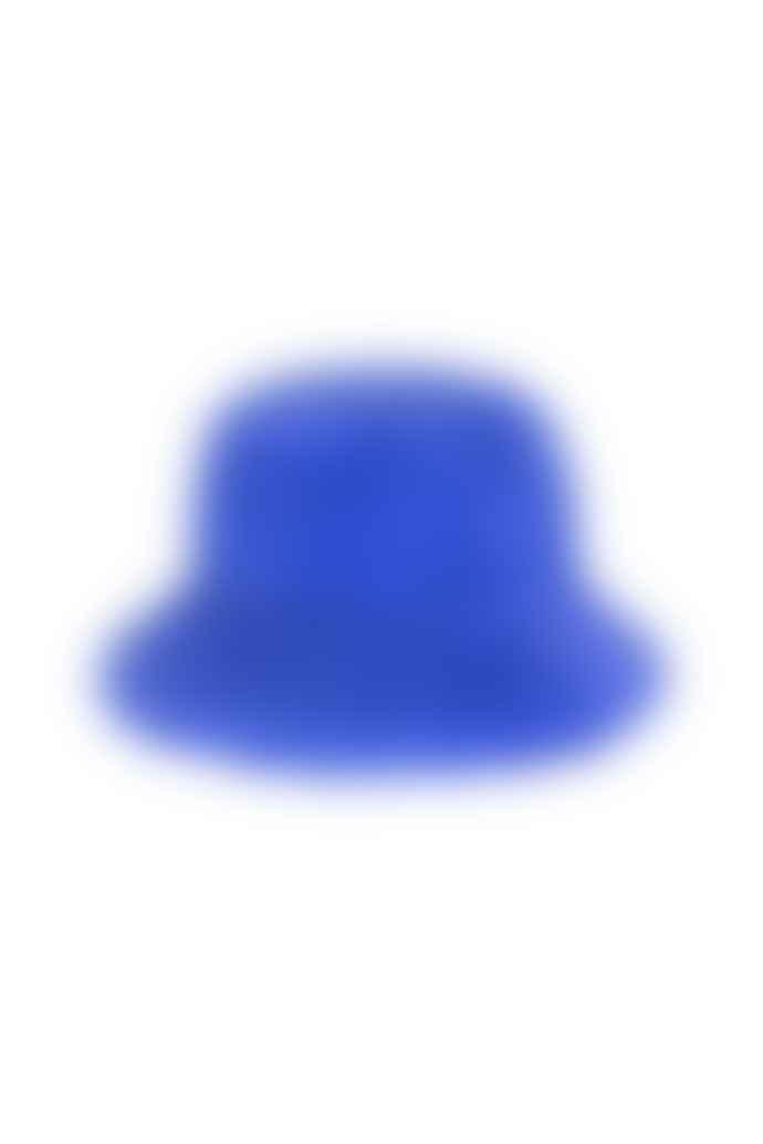 OOF WEAR Blue Faux Fur Fishermans Hat