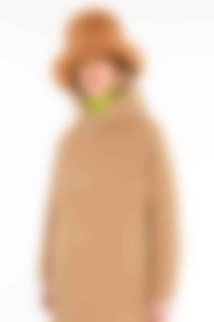 OOF WEAR Camel Faux Fur Fishermans Hat