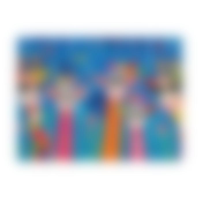 Maxwell & Williams Love Hearts Set of 2 Teatowels - Mr Gee Family/Zig Zag Zeb