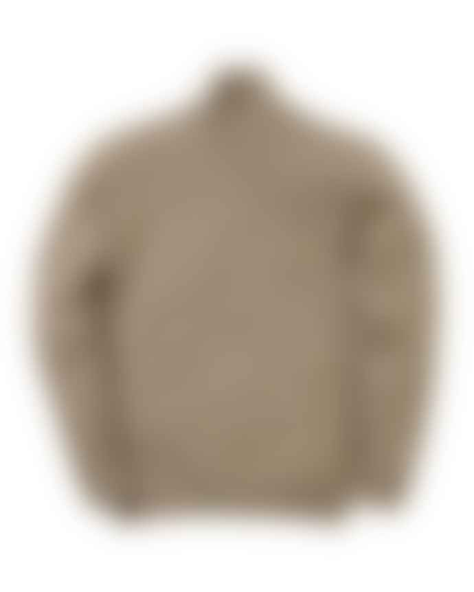 Country of Origin Funnel Neck Sweater Mushroom