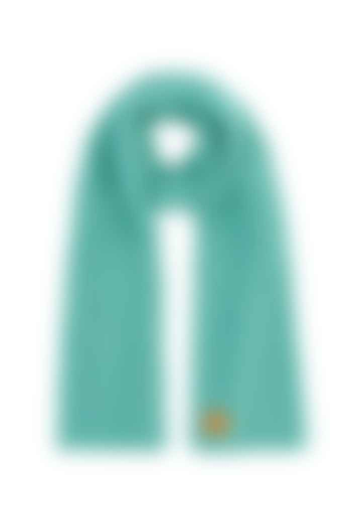 OOF WEAR Aquamarine Wool Blend Scarf