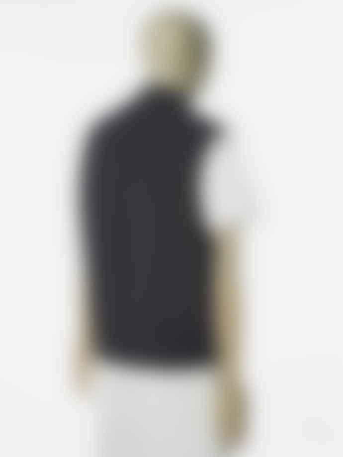Universal Works Wool Fleece Waistcoat In Charcoal