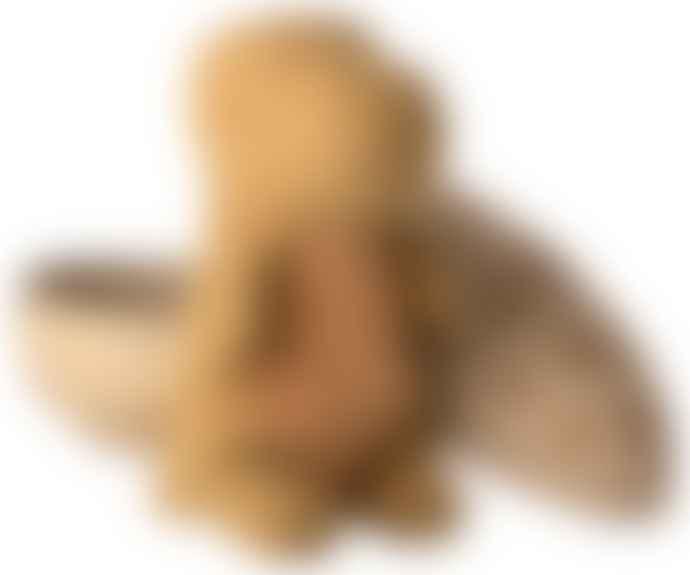 Maileg Gantosaurus in Egg Medium Dark Ocher