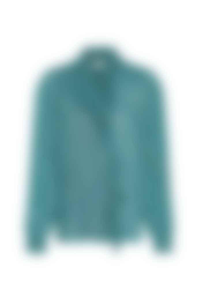 Fabienne Chapot Dusty Blue Garden Blouse Top