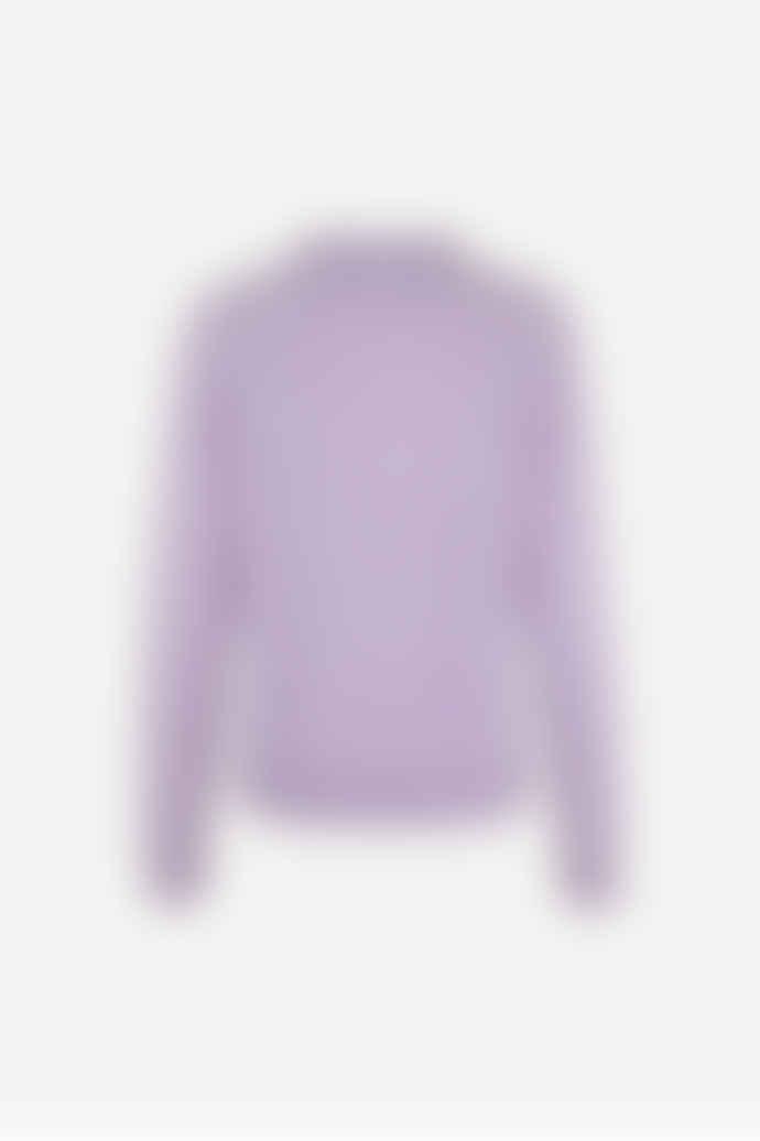 SamsoeSamsoe Purple Jasper Cashmere Boston O Neck Knitwear