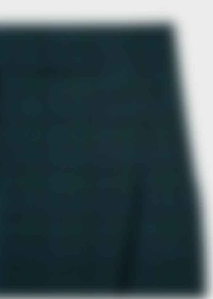 Paul Smith Green Wool Tartan Skirt