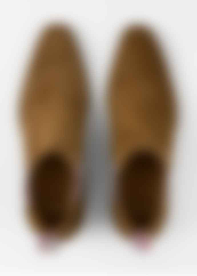 Paul Smith Tan Suede Jackson Chelsea Boot