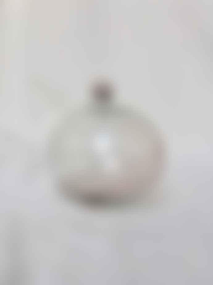 La Soufflerie Color Mix Transparent and Purple Boule