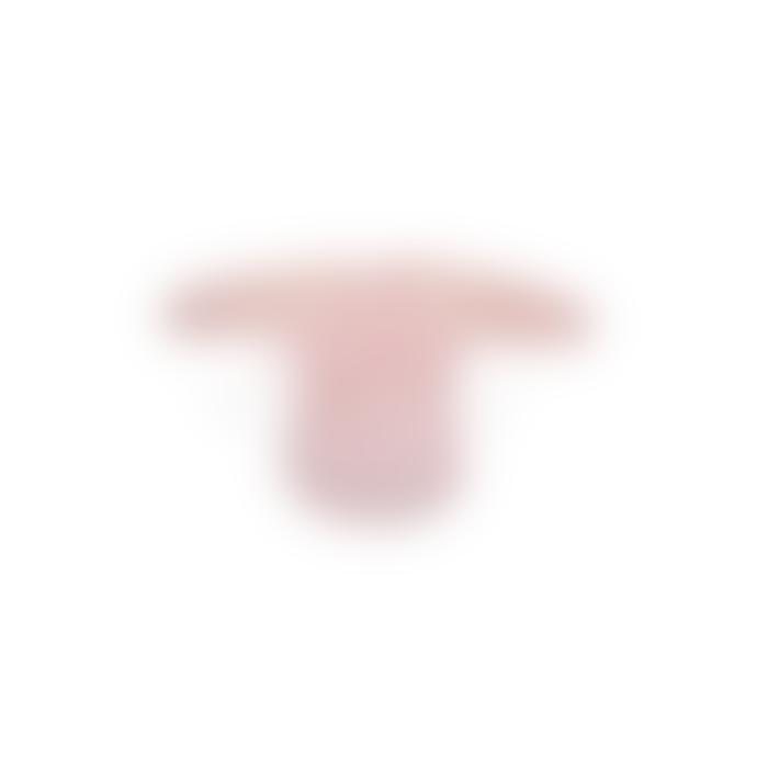 Silly Billyz Long Sleeve Bib | Pastel Pink | XL