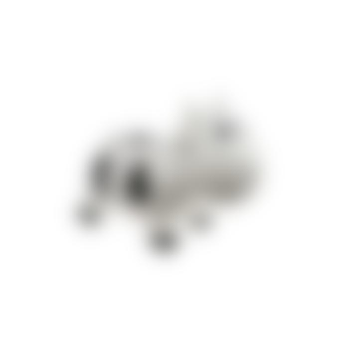 KIDZZFARM Jumping Cow | White