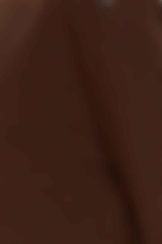 Fransa Chocolate Fondant Long Sleeved Top