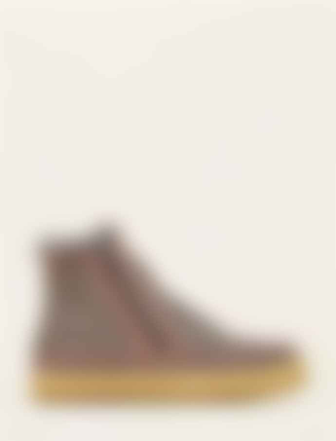 Laidback London Setsu Ankle Boot Grey Suede