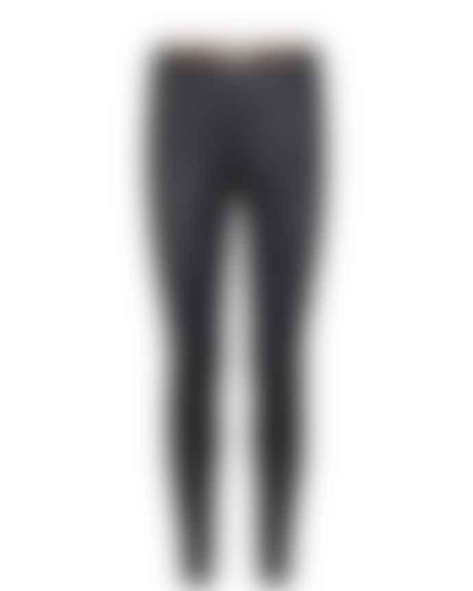 Mos Mosh Black Lucille Stretch Leather Legging
