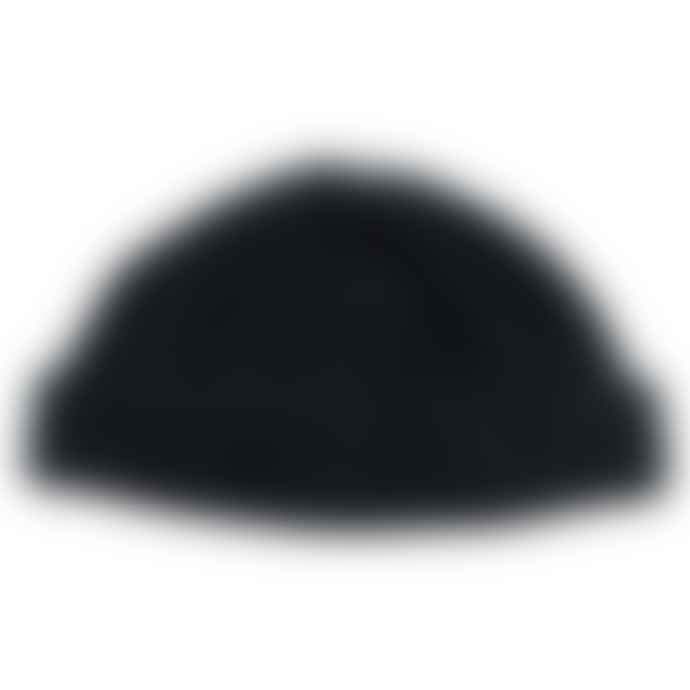 cableami Boa Fleece Drawcord Hat Black