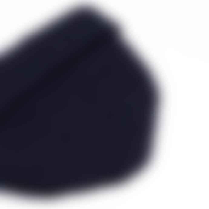 cableami British Wool Short Beanie Navy