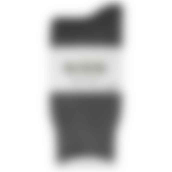 RoToTo Double Face Merino Wool Socks Charcoal