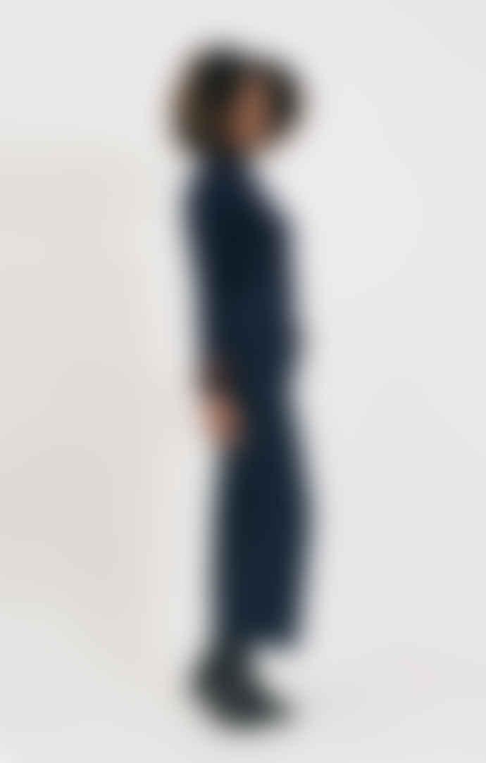 Shio Navy Tailored Trouser