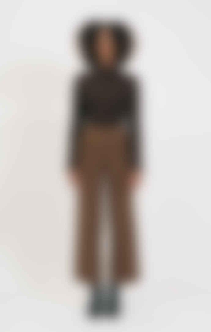 Shio Walnut Tailored Trouser