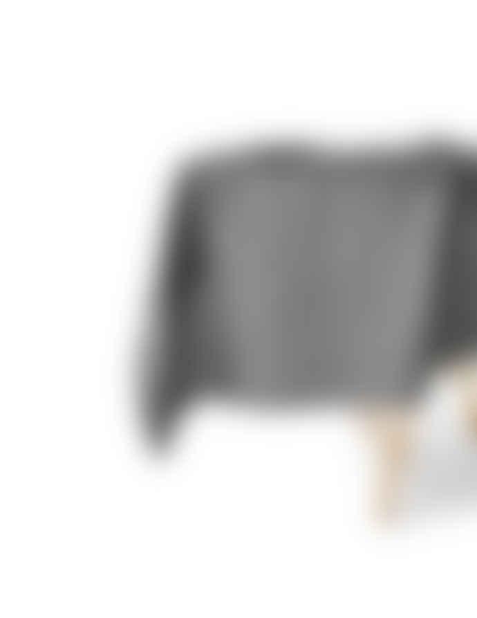 AB Småland 145x350cm Tabelcloth Linen Dark Grey