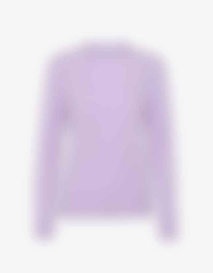 Colorful Standard Women Light Merino Wool Crew - Soft Lavender