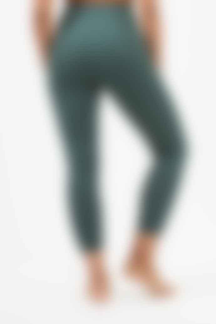 Girlfriend Collective Moss Green High Rise 7/8 Leggings