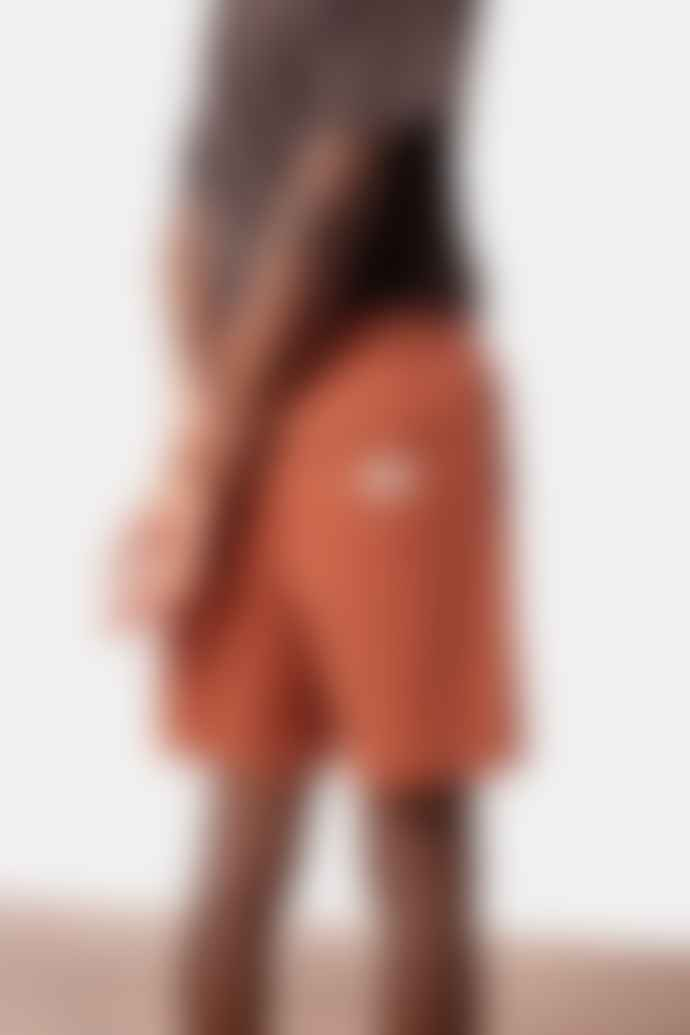Rhythm. MENS CLAY BROWN BOX JAM SHORTS