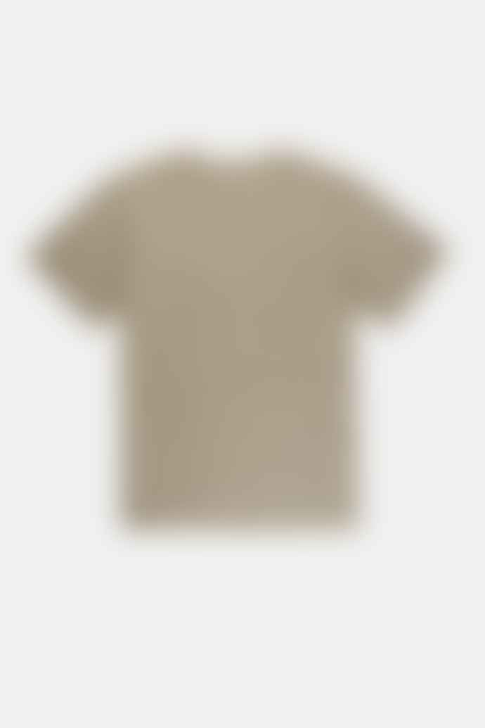 Rhythm. MENS SAGE GREEN EVERYDAY ENZYME WASH T SHIRT