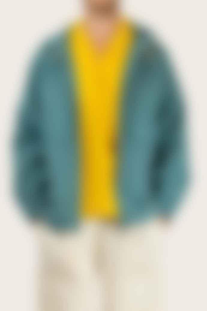 Outland Turquoise Fisherman Jacket