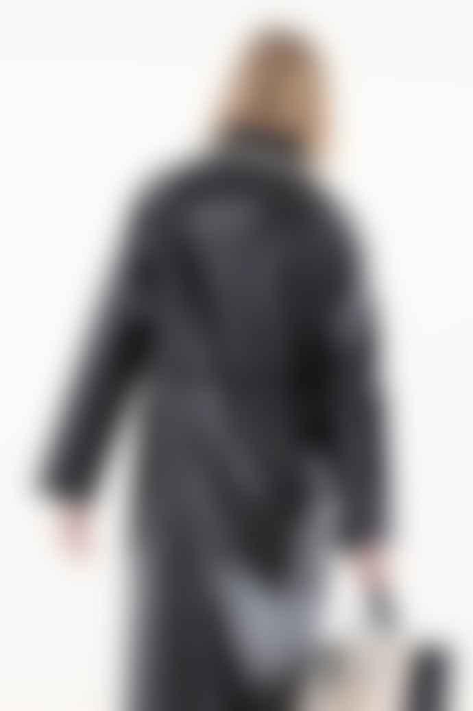OOF WEAR Long Reversible Coat In Black