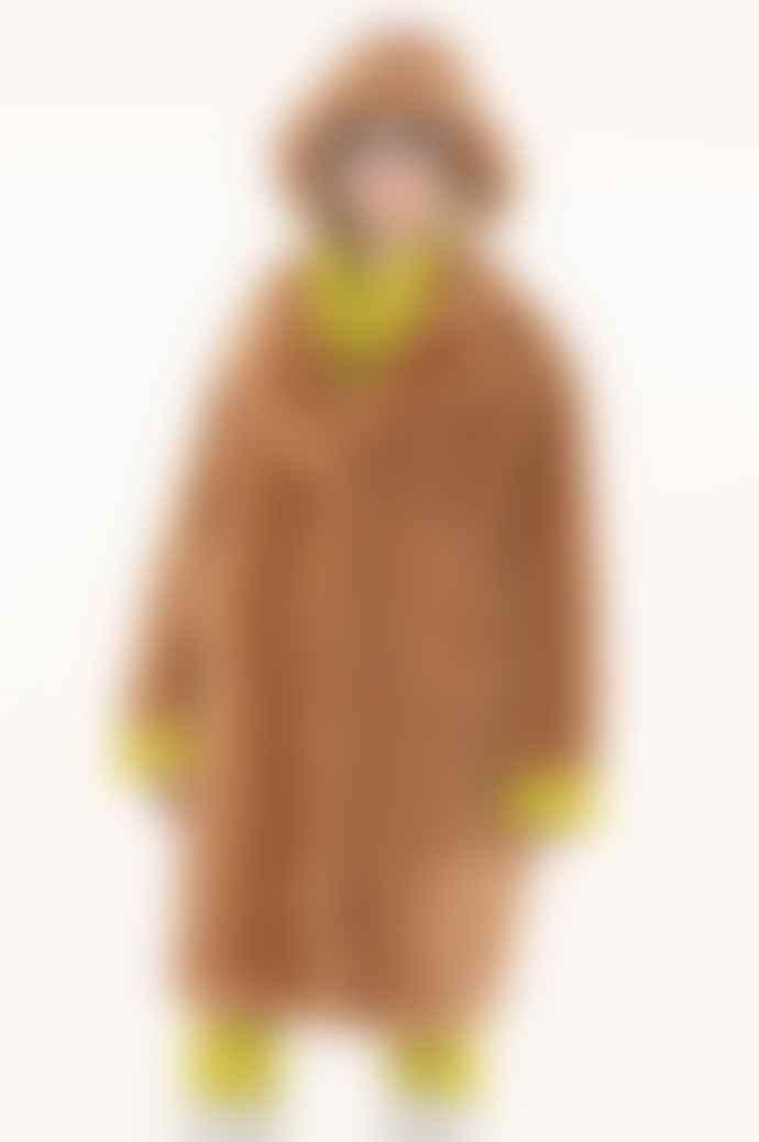 OOF WEAR Teddy Coat In Camel