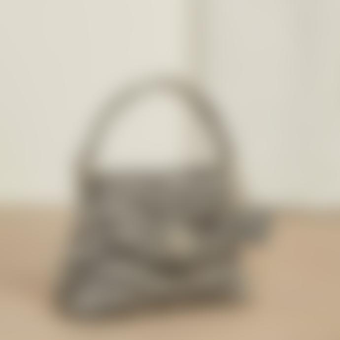 Fabienne Chapot Black and White Bon Bon Hairy Bag