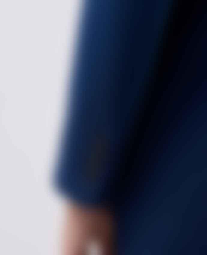 Remus Uomo Rueben Dark Blue Overcoat
