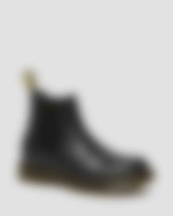 Dr Martens  Black 2976 Womens Wanama Leather Chelsea Boots