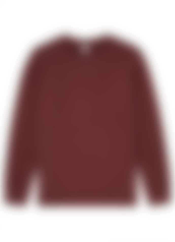 Sunspel Sweatshirt Merlot