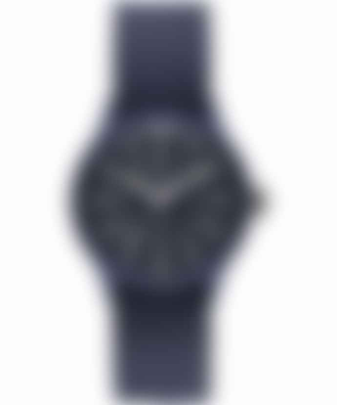 Timex Archive Mk 1 Resin 36 Watch Blue Case Blue Dial