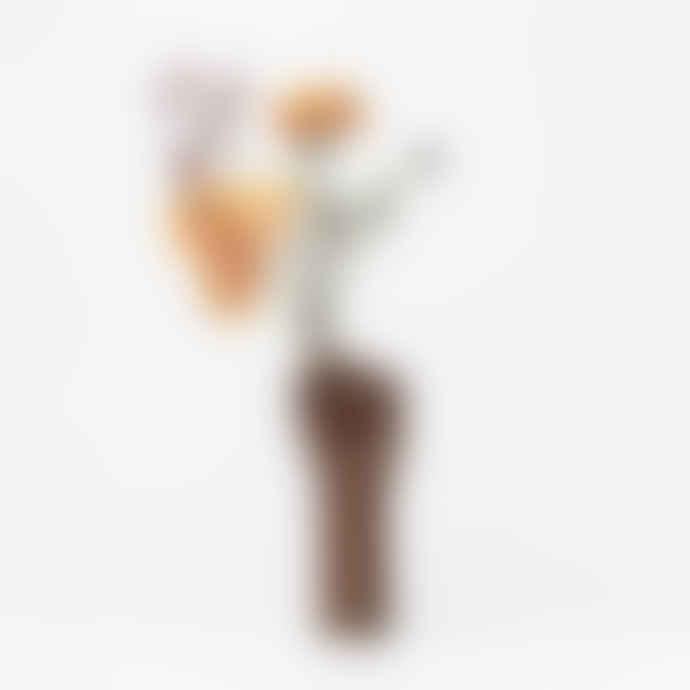 DOIY Design Ceramic Girl Power Fist Vase