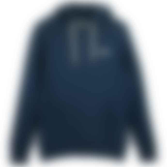 Superdry Orange Label Classic Hood Midnight Blue Grit