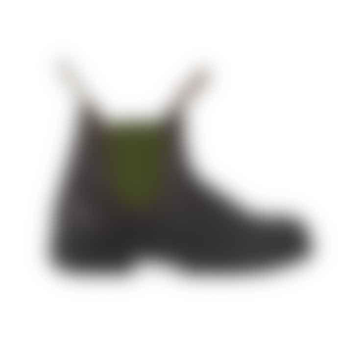 Blundstone 519 Original Leather Boot Stout Brown Olive