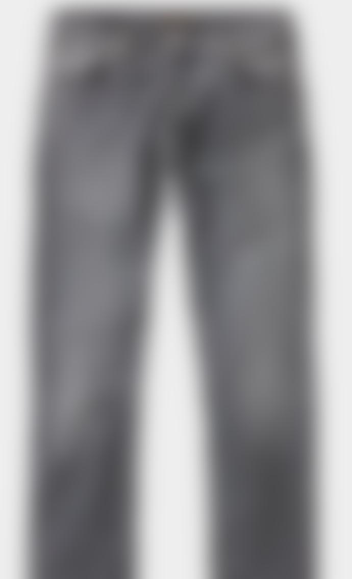Nudie Jeans Grim Tim Pale Grey Jeans