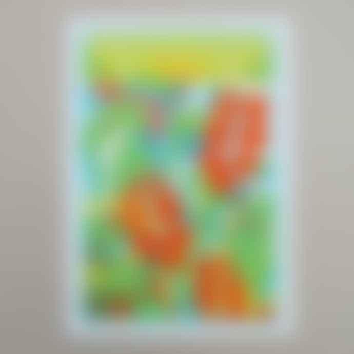 Printer Johnson A4 Tomato Seed Risograph Print