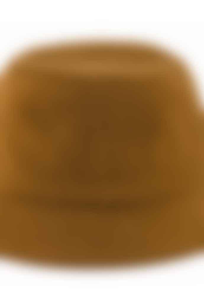 Outland Camel Brown Bob Wool Bucket Hat