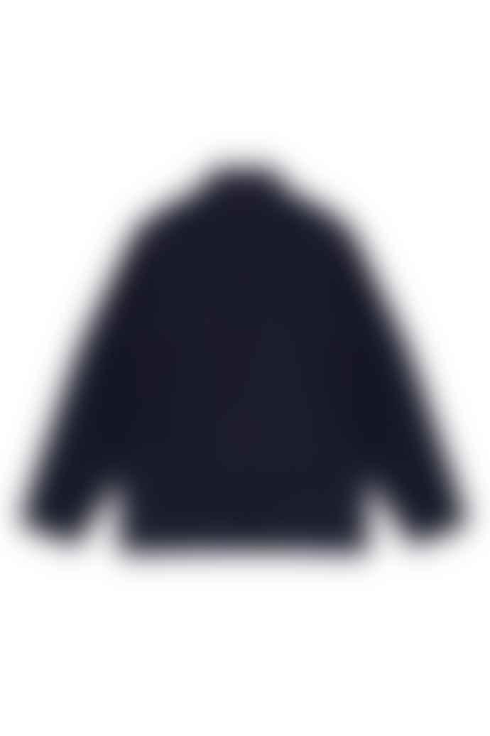 Outland Navy Melange Dubliner Wool Jacket