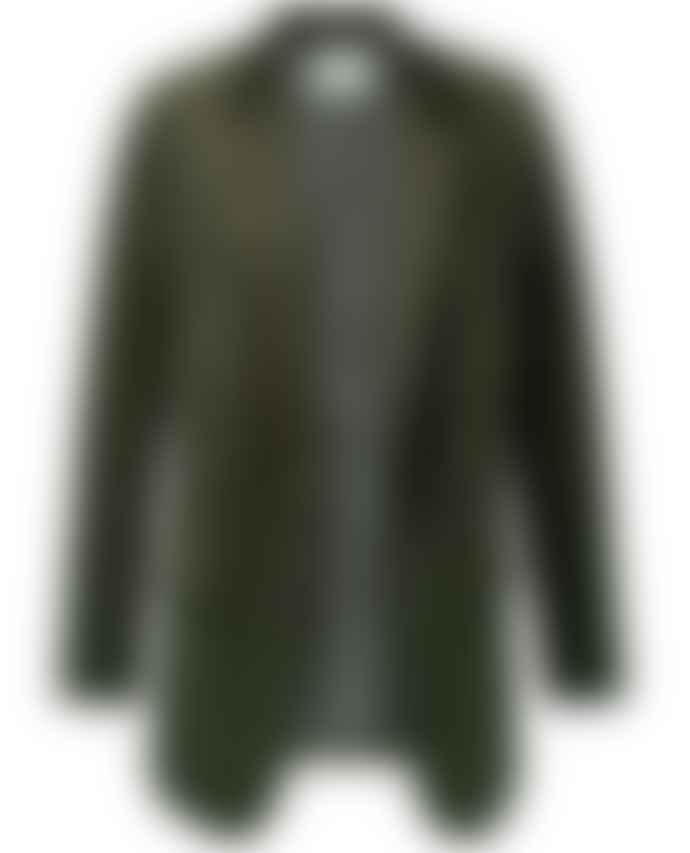 Yaya Deep Green Velvet Blazer