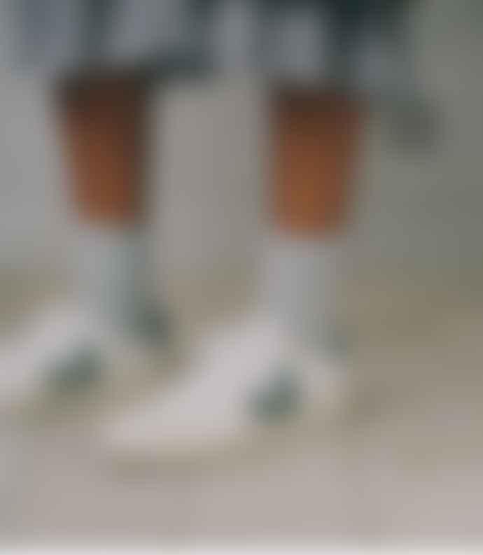 Veja V 12 White Cyprus Leather Sneakers