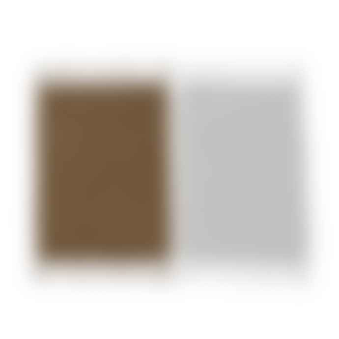 OYOY Gobi Tea Towels Off White Rubber Set Of 2