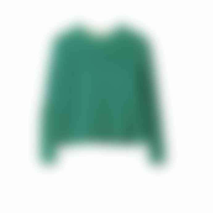 Delicate Love Green Clair Cable Chennile Sweater