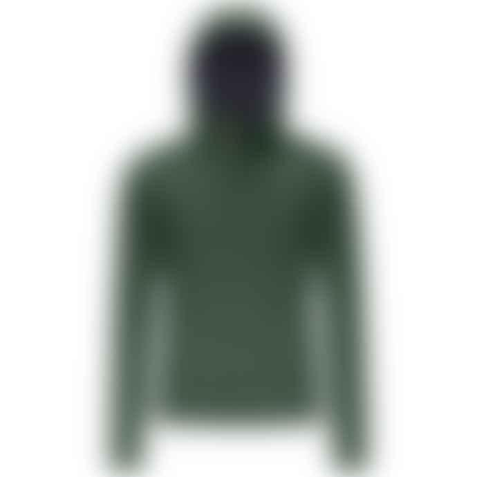 K-WAY Jack Ripstop Marmotta K1119 Kw - Green Dk Forest - Blue Depth Jacket