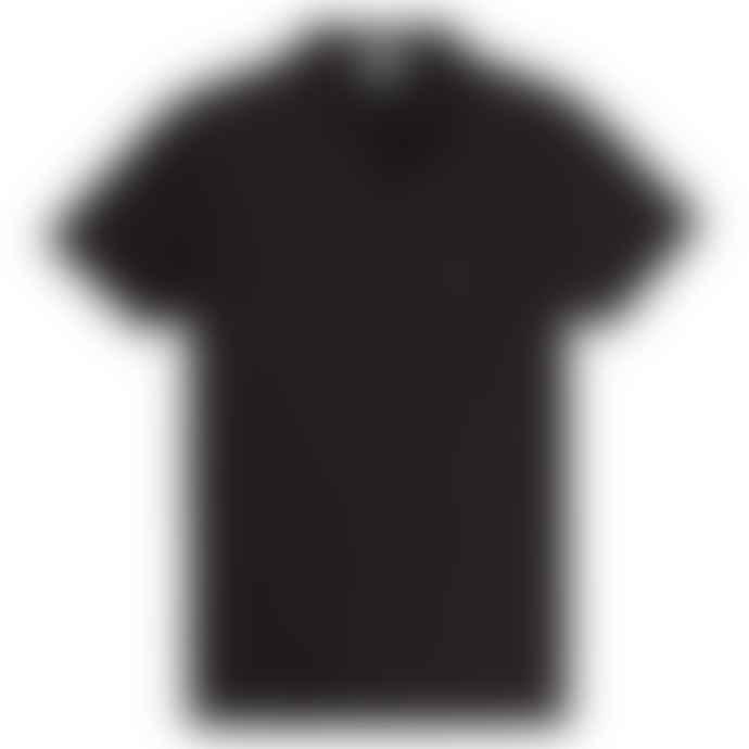 Sunspel Riviera S S Polo Shirt Black