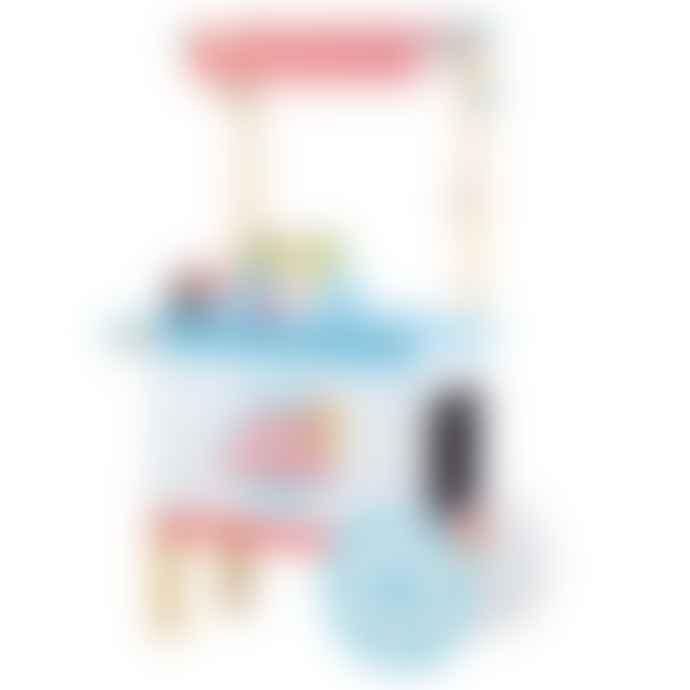 Bigjigs Toys Wooden Ice Cream Cart
