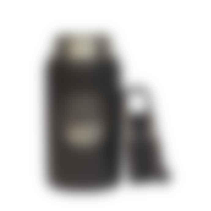 Earthwell X Hikerdelic Thermal Bottle 12 Oz Volcanic Black